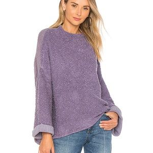 NEW NWT BLACK Free People Cuddle Up Sweater